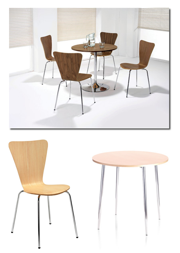 Picasso & ellipse canteen furniture